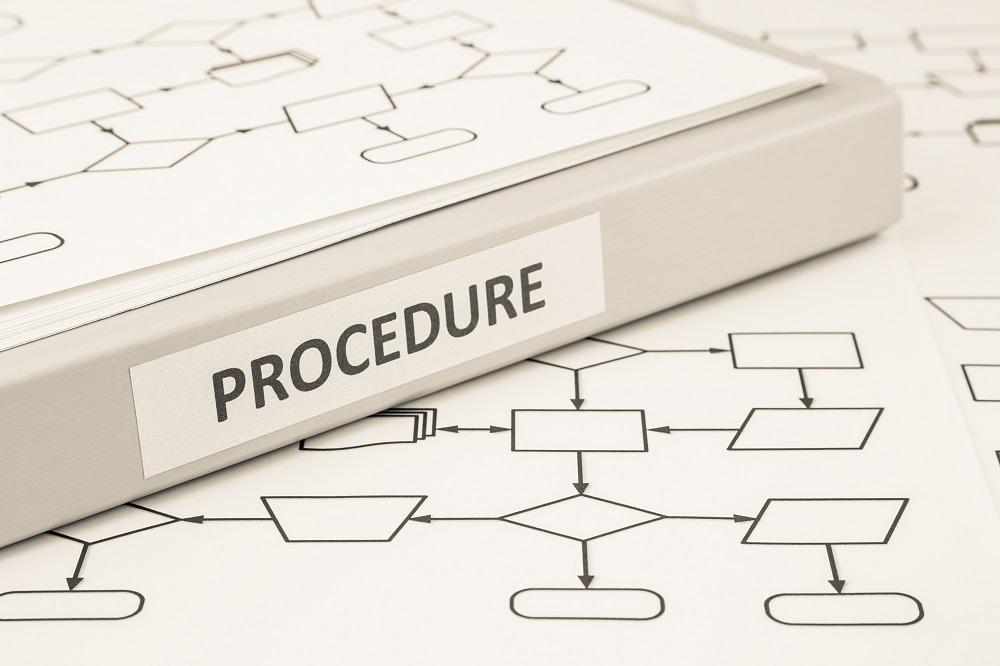 Procedure process concept for work instruction